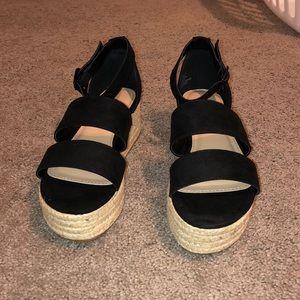 platform sandals wedges